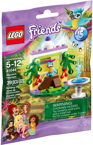 LEGO® Friends - Papageiengarten - 41044