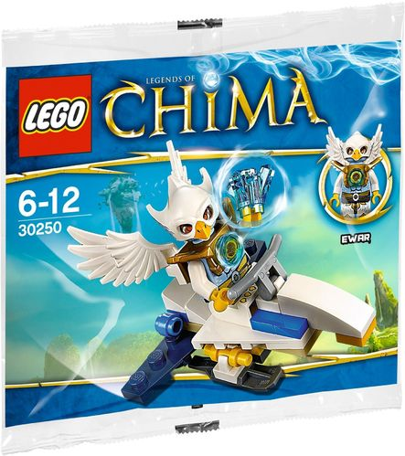 LEGO® The Legend of Chima - Ewar's Acro Fighter - 30250