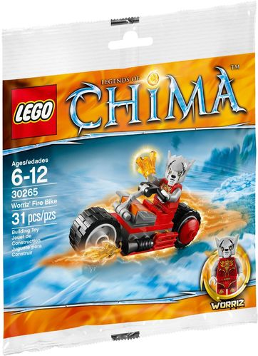 LEGO® The Legend of Chima - Worriz' Fire Bike - 30265