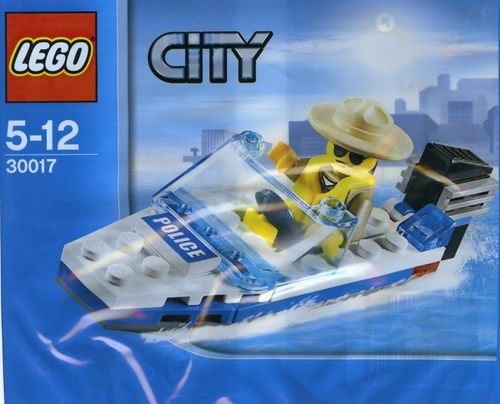 LEGO® City - Polizei Boot - 30017